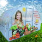 Тепличный сотовый поликарбонат «Адонис» 4 мм